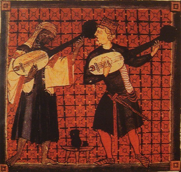 Christian_and_Muslim_playing_ouds_Cantigas_de_Santa_Maria_by_king_Alfonso_X