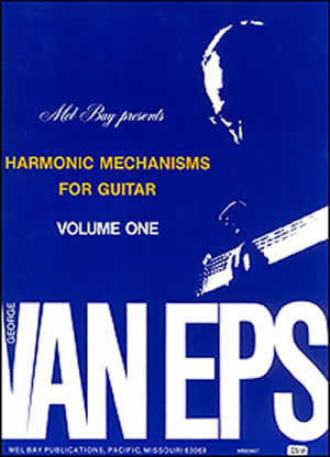 TECHNIQUES et MUSIQUES, IMPROVISATION pour GUITARE. 5 doigts main droite (6, 7 & 8 strings) Harmonic-mechanisms